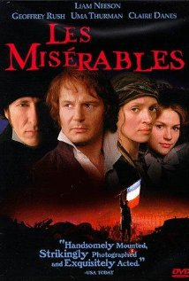 Be careful about which Les Misérables you watch. This one is much older, and overall, pretty terrible. It is not a musical, and some important characters are missing, like the beyond friendzoned Eponine. I found this version to be overall unsatisfying for my undying love for this story. Photo curtsey of IMDb.