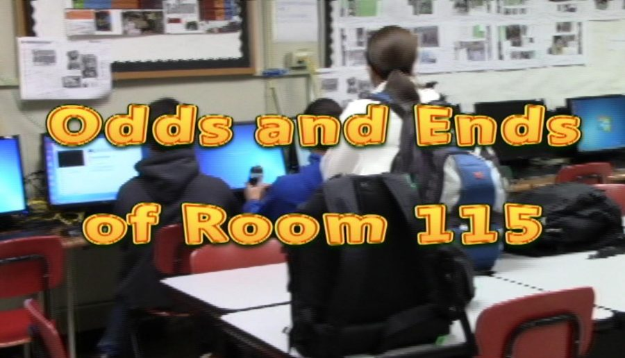 Odds and Ends of Room 115: Journalism PSA