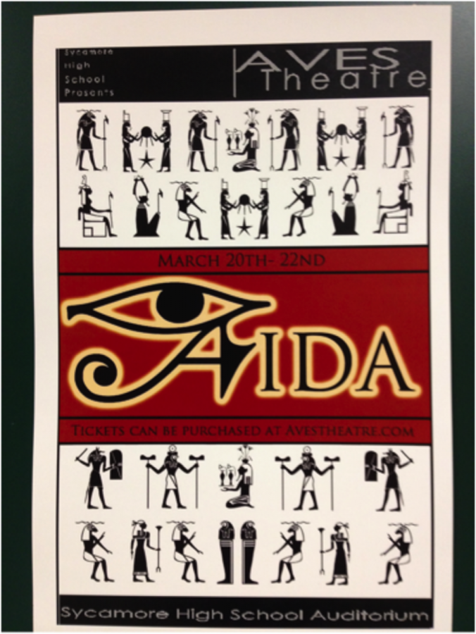 """After months of preparation, students will perform """"Aida"""". They have stayed hours after school to prepare for the show. The performance will be held from March 20th to the 22nd in the Aves Theatre. Photo courtesy of Sarah Horne."""