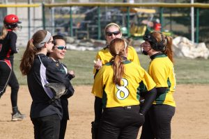The softball season is staring. Players are excited to get back with their team. New players cannot wait to play at the high school level. Photo courtesy of McDaniel's Photography.