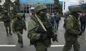 Ukraine has accused Russia of a military invasion and has called on the Kremlin to withdraw its troops. Lavrov called on Ukraine to return to the Feb. 21 agreement signed by pro-Russian President Viktor Yanukovych aimed at ending his country's three-month political crisis. He fled after signing an agreement with the opposition. Photo Courtesy: MCT Photo