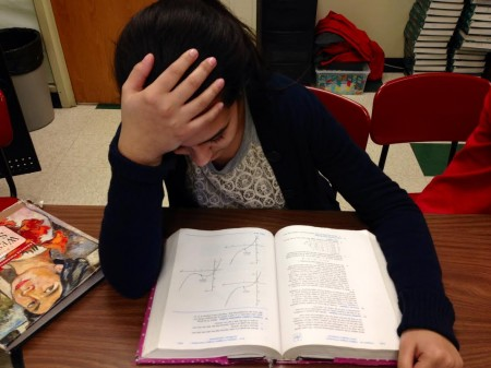 Students begin to cram more as they grow older. They are faced with more time conflicts and harder courses. Cramming is a problem people of all ages face. Photo courtesy of MCT Photo Service.