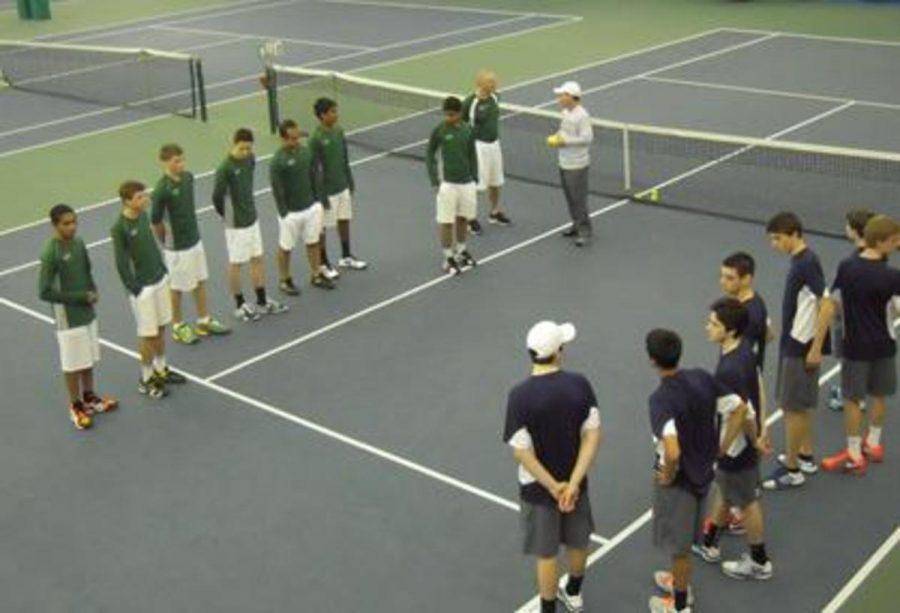 Varsity Tennis aces Cleveland