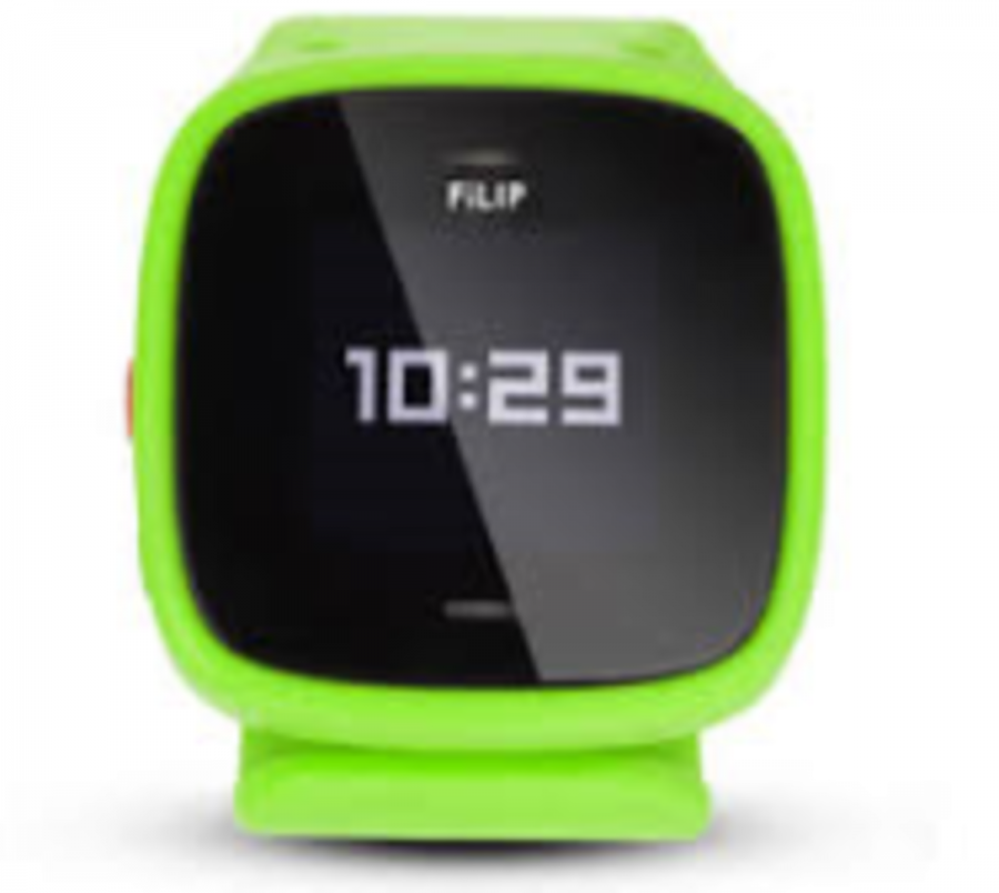 the Filip is being sold for at AT&T. It costs a total of $199. It comes in several colors.