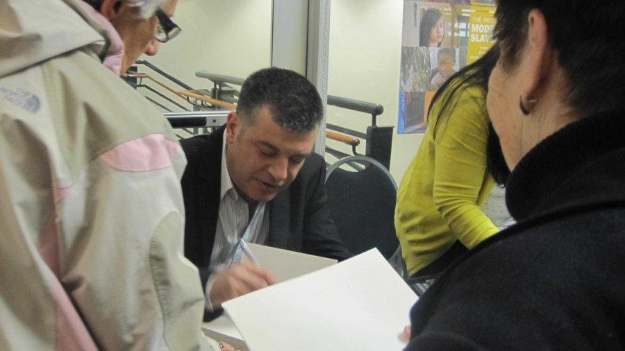 Arab-Israeli writer speaks at JCC