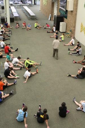 Working out details: Spring Track hurdles Spring Break