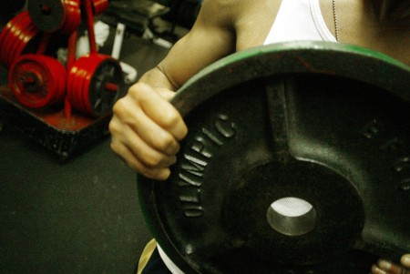 When weight lifting you have to use a bunch of things to get the right burn. The softball team uses the weights like these to work out. But they also do floor exercises to get back into shape. Photo courtesy of MCT photo.