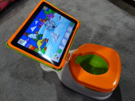 The Ipotty is considered by many a terrible idea. However many don't see anything wrong with this contraption. The toilet is up for sale at 40 dollars.
