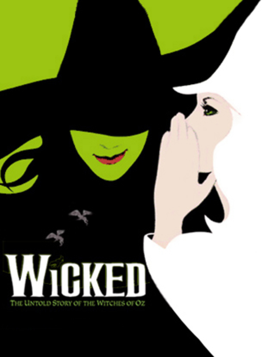 """""""Wicked"""" is based off of the novel by Gregory Maguire. It debuted on Broadway in 2003 and has been a smash hit ever since. The show will be at the Aronoff through Sunday, March 23rd. Photo courtesy of Ben Cohen."""