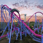 The Banshee replaced the wooden roller coaster, Son of Beast, which closed in 2012 due to an accident and other structural problems. It was built by a Swiss roller coaster company called Bolliger & Mabillard, who also built the Diamondback. The Banshee cost King's Island $24 million to build. Image courtesy of King's Island.