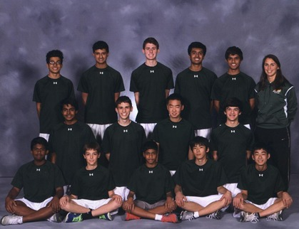 This is the JV tennis team photo for 2014. This team has had an undefeated season, and will be in Flight A at the Coaches Classic. They are the highest seed in the tournament. (IMAGE BY McDANIEL'S PHOTOGRAPHY)