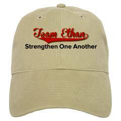 "This Team Ethan hat with its logo and slogan, ""Strengthen One Another,"" is being sold for Father's Day to raise money for the organization. Ethan Kadish was struck by lightning and is recovering with the support of this organization and the Cincinnati community. WCPO has covered the story from the start. Photo courtesy of Team Ethan."