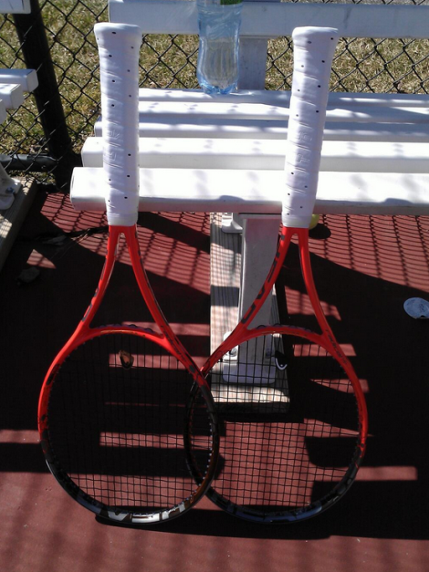 The Boys' JV tennis match against Hamilton High School consisted of two doubles matches. Winning on both courts, the team extended their undefeated record to 7-0. The team is now preparing their lineup for the Coach's Classic Tournament in two weeks. Photo courtesy of David Muskal.
