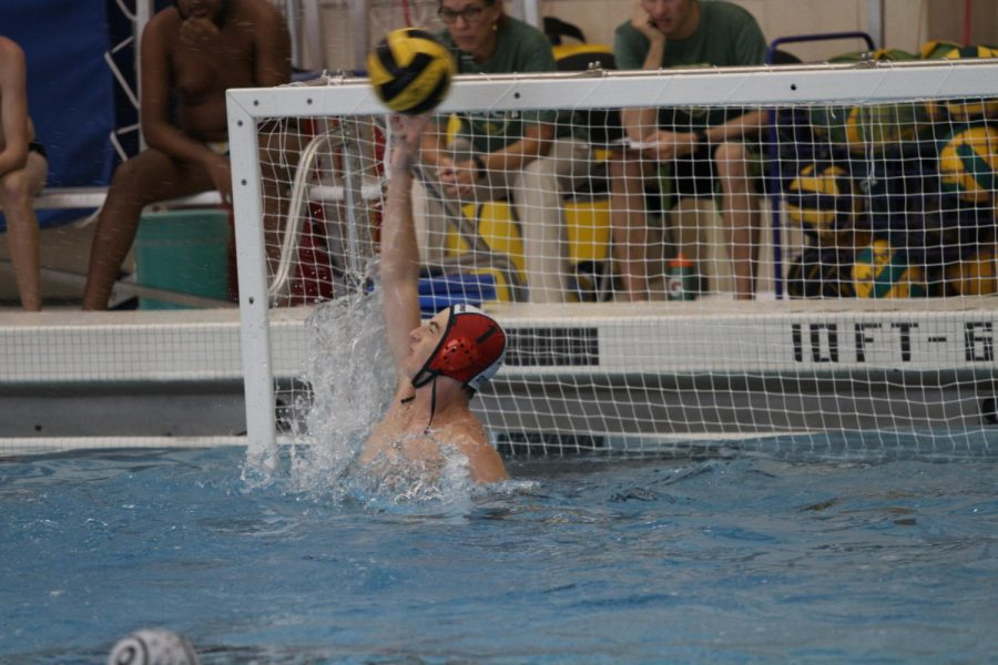 Boys JV water polo splashes into dual match