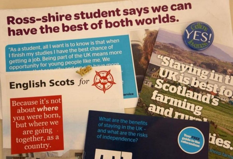 Scottish referendum deciding Scotland's future – The Leaf