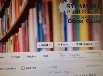 The SHS Book Club Facebook page. The club meets to discuss a designated book that all the members have read. It plans to meet for the first time in the first week of second quarter.