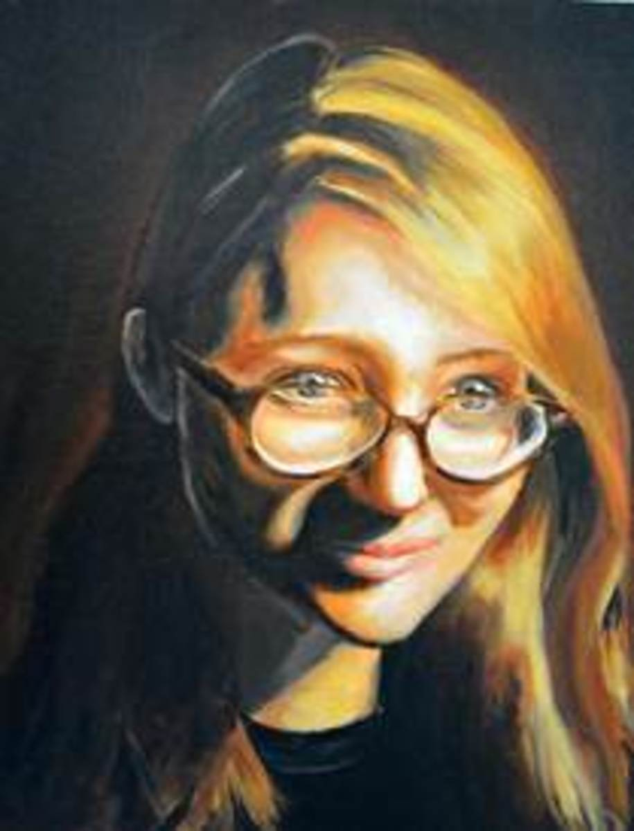 Self Portrait painting done by Steinberg.