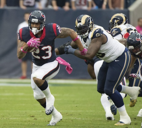 Running back Arian Foster recently admitted to accepting money while playing for his colleges football team. Player's do not normally make money while in college due to their tough schedule. Some teammates have gone against their coaches wish and have accepted money during their college career.