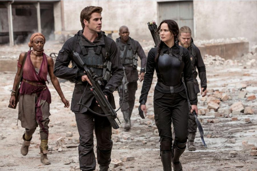 Liam+Hemsworth+%28Gale+Hawthorne%29%2C+Jennifer+Lawrence+%28Katniss+Everdeen%29%2C+Josh+Hutcherson++%28Peeta+Mellark%29+and+others+appear+in+the+new+addition+to+the+Hunger+Games+movies.+The+movies+and+the+books+have+intrigued+fans+across+the+globe+with+their+intense+plot+line.+The+books+by+Suzanne+Collins+became+a+widely+known+topic+and+have+grown+an+impressive+fandom+and+are+being+made+into+movies.+