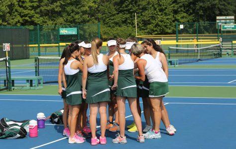 Varsity Green Girls tennis team finishes season with success