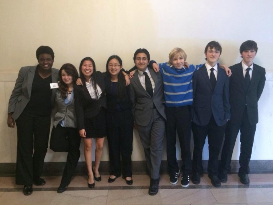 After competing at districts over the weekend the Mock Trial season comes to a close. The team had been working on their clase since September and were coached by volunteer attorneys. They worked on their case that simulated a courtroom and learned about the judiciary system. source:sycamoreschools.org