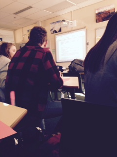 Chinese Club meetings take place on Fridays, in room 247.  This event took place on January, 30, 2015.  Meetings start promptly at 2:30 P.M.and  end between 4:00 and 5:00 P.M.  Photo credit: Jacob Englander.