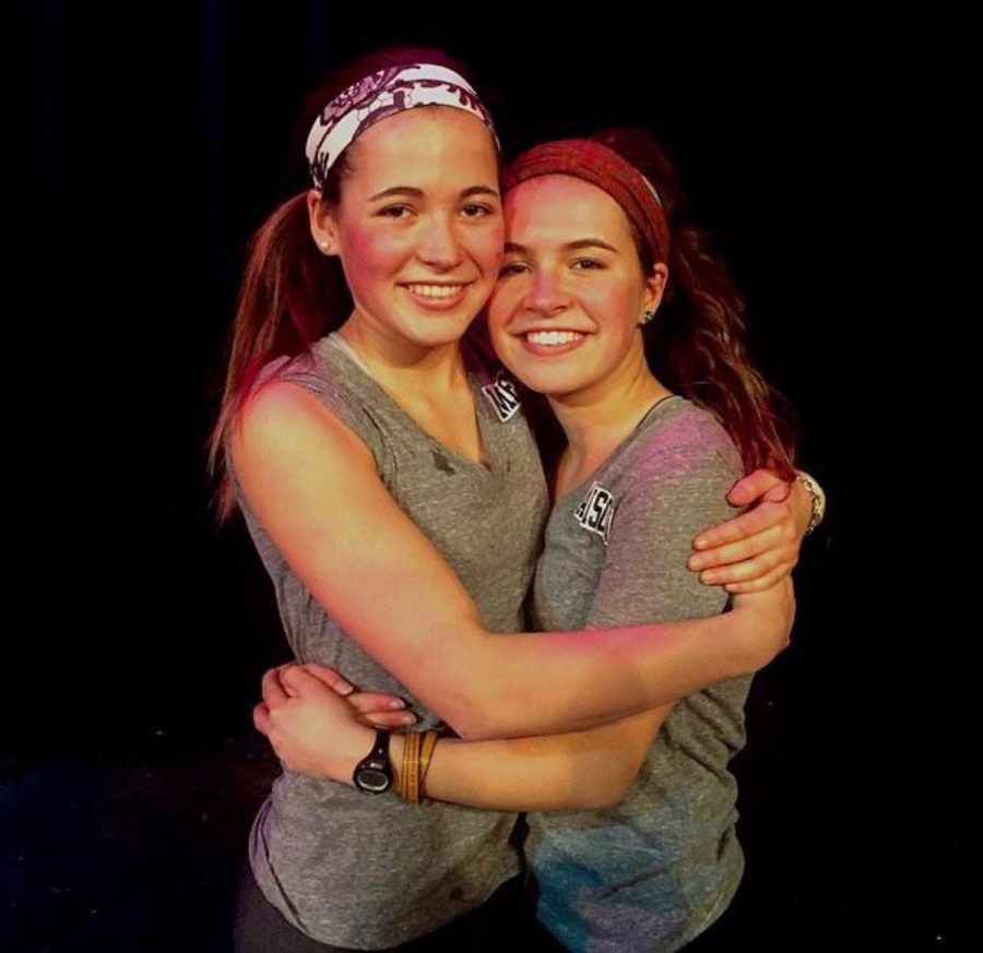 Senior sisters Allison and Megan Rogge emerged victorious during battle of the sibs on Fri. night. The competition ran elimination style with one team eliminated after each game. The sisters raised $1,500  for those suffering from and EDS, a connective tissue disorder.