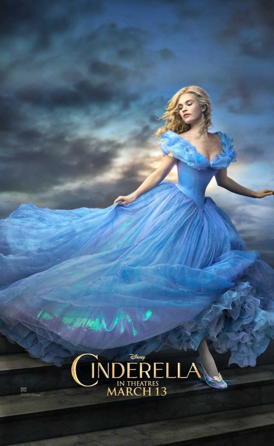 """""""Cinderella"""" came out on March 13. Lily James plays Cinderella, she is best known for her role on  """"Downton Abbey."""" She was also hit with controversy over her """"tiny waist"""" with people saying it was un-proportional. Photo Courtesy: MCT Campus"""