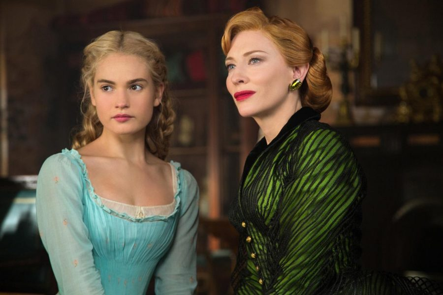 """The original tale of """"Cinderella"""" comes from an old European folk tale. The movie premiered on March 13, 2015. The film stars Lily James, Cate Blanchett, Helena Bonham Carter, and Richard Madden."""
