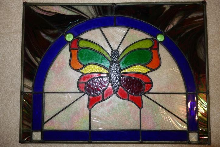 This+colorful+butterfly+is+an+example+of+a+stain+glass+project+for+beginners%2C+which+might+take+5-7+weeks+to+complete.+Students+learn+to+select+the+glass%2C+cut+it%2C+foil+it%2C+and+solder+the+pieces+together.+The+process+is+relatively+simple+when+guided+by+a+teacher+and+the+right+equipment+is+available.