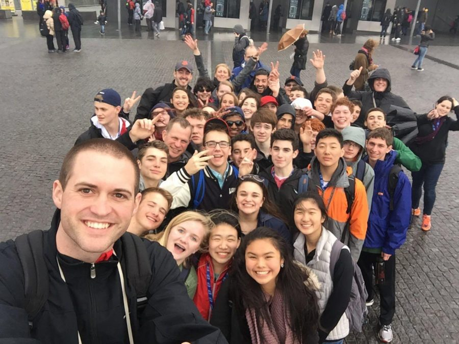 While on the Europe trip students traveled extensively and saw many different places while experiencing a new culture. They had been learning all about Europe in class and the trip gave them the opportunity to experience it first hand. Their travel gave them a new experience and knowledge about what they had been learning.