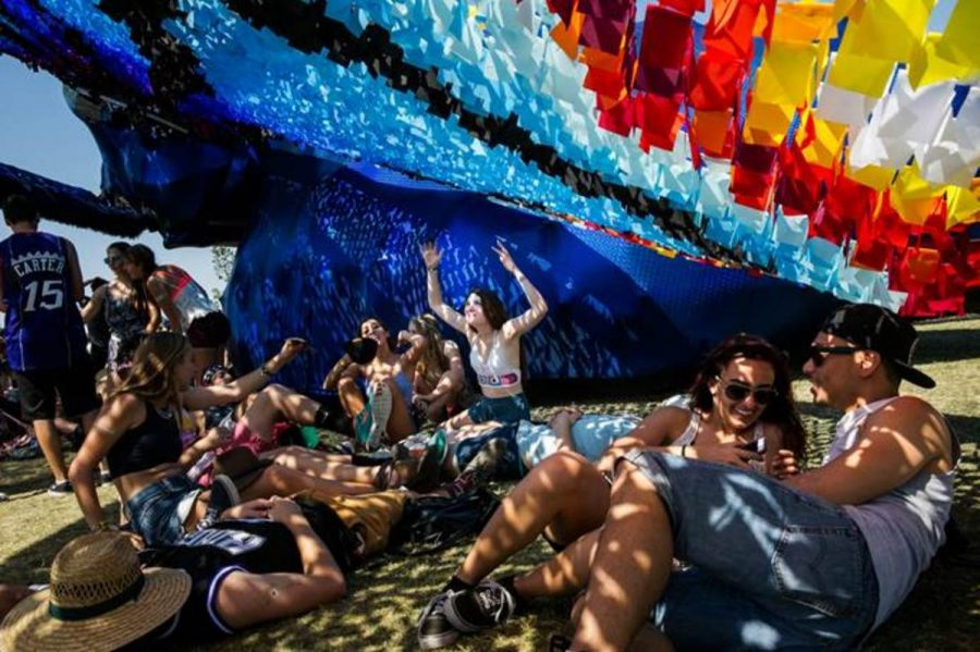 The hot desert sun offers a dry climate at the ground of Coachella. The six stages offer different setups with different performers performing at each place. The second weekend is approaching as the first weekend comes to a close. Photo Courtesy: MCT Photo