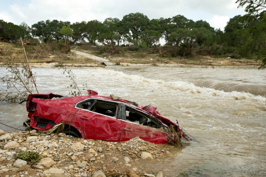 Over the past few days, rain and tornados have been showing up in the southern United States, causing massive flooding. One of the most seriously hit towns was Wimberley, Texas. Over 2500 vehicles were abandoned over the past few days due to flooding.
