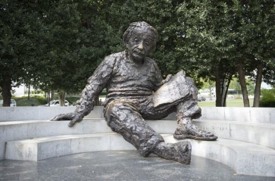 Albert Einstein was slow to talk; he didn't speak until the age of three. He had very particular habits and one of them was to never wear socks. Einstein also co-invented the refrigerator.  Photo Credit: MCT Photo