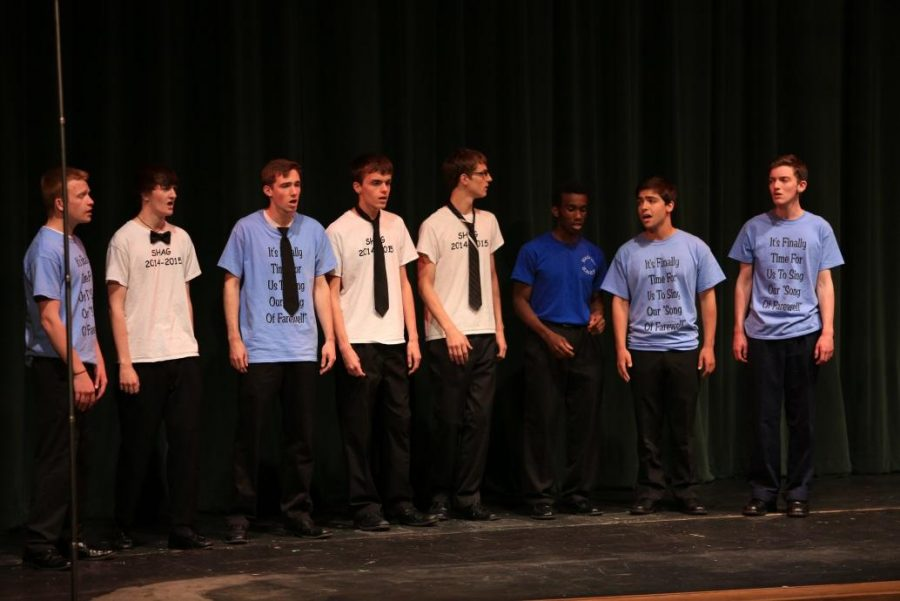 The all-male acapella group SHAG performs at every concert. They practice after school and compete in competitions around the state. It is audition only; auditions are held in fall of the new school year.