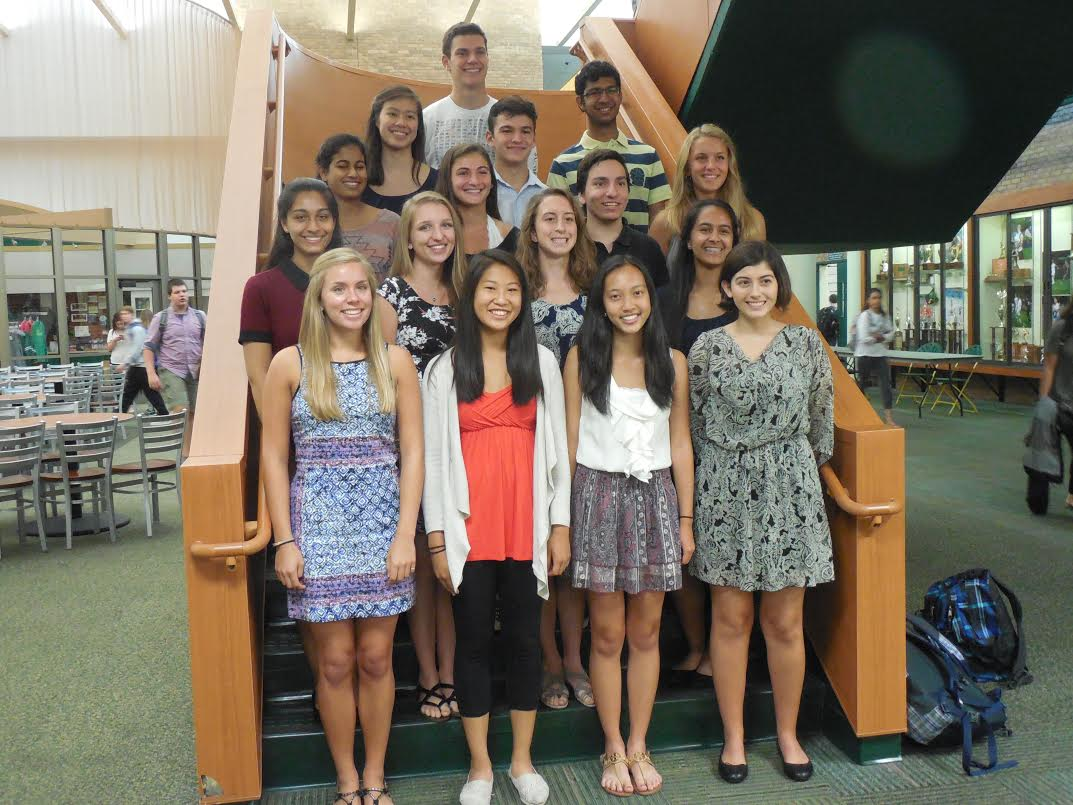 SHS houses seventeen national merit semi-finalists. These are students who did well on the PSAT with a score of over 215.