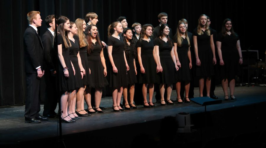 Bella+Voce+sings+at+the+SHS+choral+concert.+The+choir+always+participates+in+the+annual+event+that+showcases+the+talent+of+the+choral+program.+The+choir+spends+their+class+time+rehearsing+and+learning+choreography+for+the+important+event.