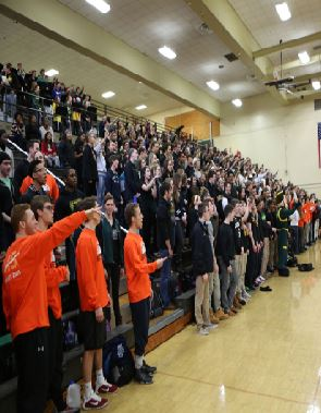 Last year's pep rally, which was all organized by the Student Council was well received by everyone. Everybody can be seen rejoicing the spirit of SHS, getting energized and excited. The Ave Cave was getting rowdy  for the night's game.
