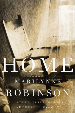 Home is written in Robinson's unusual, almost prose-to-poetry style, focusing on day to day life in a small town in rural Iowa. Robinson's text is grace and home-y-ness in a book.
