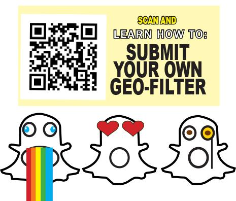 Submitting geo-filters