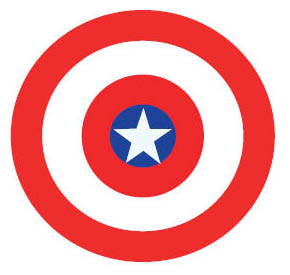"""Captain America's shield is a trademark of the character. The stars and stripes perfectly complement the Captain's patriotic attitude. In """"Civil War,"""" which will be stronger: the shield, or Iron Man's suit?"""
