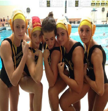 SHS players show their muscles to intimidate their opponents for this weekend. They are confident heading into the tournament with a regular season record of 29-6. Second only to Upper Arlington, with a record of 27-1, the state final will hopefully be an intense one, with a SHS victory at the end.