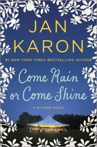 """Jan Karon's Mitford novels are New York Times best sellers. Coming Sept. 22 is the most recent Mitford novel Come Rain or Come Shine. Karon writes """"cozy reads"""" that would lend themselves well to structured reading time."""