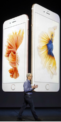 Apple CEO Tim Cook reveals the new iPhone 6 to the world. Sooner or later iPhone batteries will be able to last longer than just a day. Android has already produced phones that have a 48 hour battery.