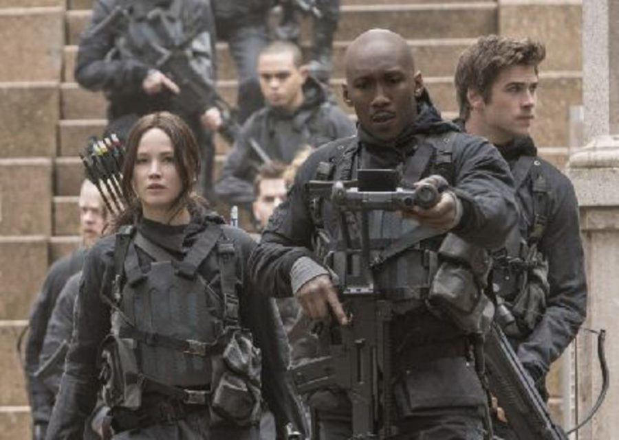 Katniss and rebel forces invade the Capitol. Jennifer Lawrence's performance as Katniss has always been stallar, but she gets to showcase a new range of emotions in Mockingjay- Part 2. Her face portrays the battle between strength and hopelessness constantly being fought in her head for the film's duration.