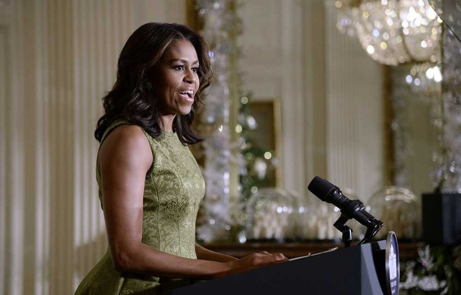 A 'woman crush' is any female that another female would love to spend the day with. There are many reasons for First Lady Obama to be my woman crush, aside from the fact that she is in fact beautiful. She is a mix of Eleanor Roosevelt and Jackie Kennedy, exactly what today's girls need.
