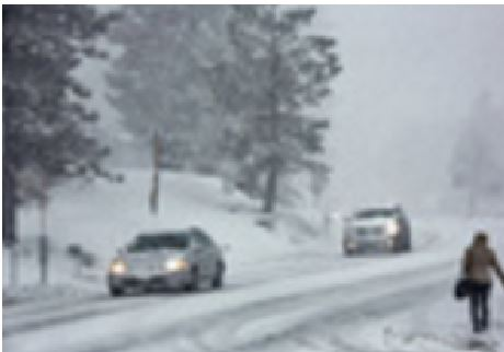 Frigid temperatures can also affect your car's performance. It is a good idea to keep your car indoors if possible. Another idea is to carpool on snowy days.
