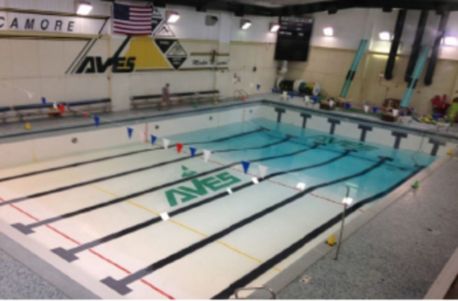 The SHS pool was drained over the weekend. The swimmers faced freezing temperatures the days following due to this drainage. In this end, the swimmers would sacrifice cold water for good air quality.