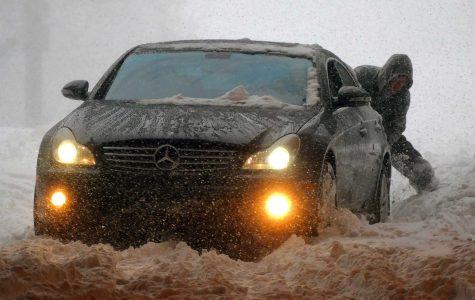 Blizzard slaming east coast