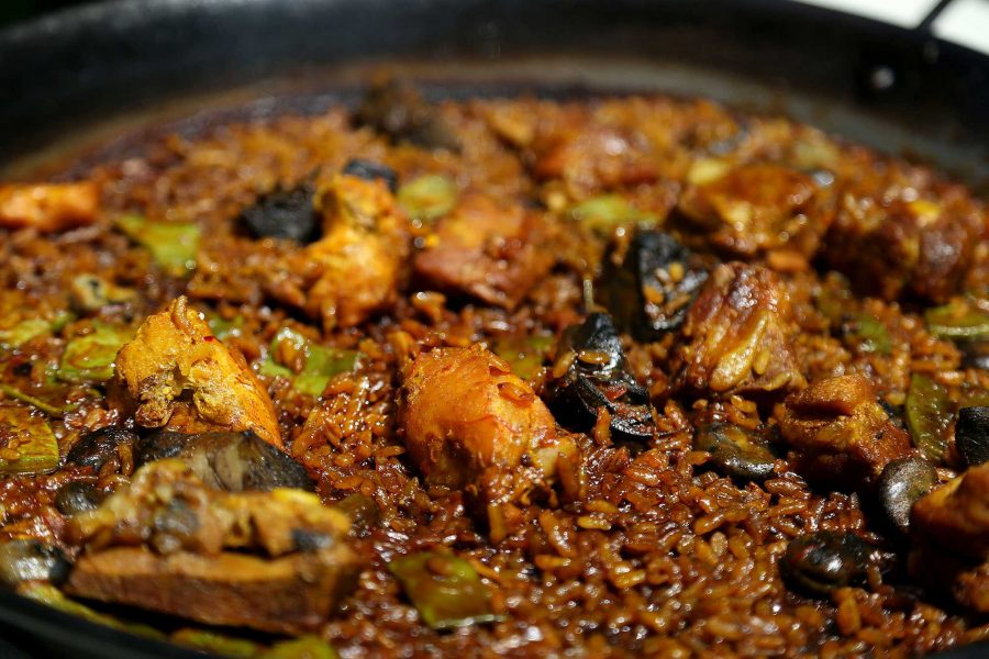 Some+of+the+food+that+Spanish+Club+tries.+This+dish+is+Paella.+It+is+a+commonly+eaten+dish+in+Spain.+